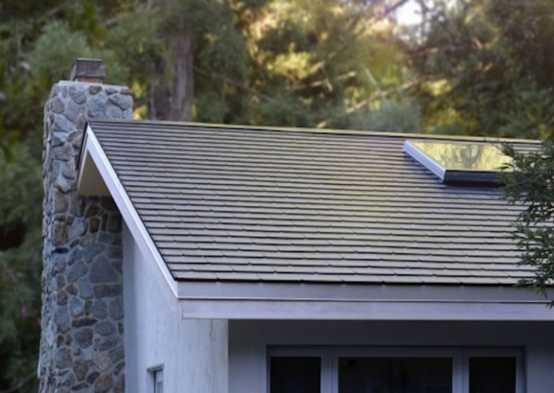Tesla's First Solar Roof Tiles Are Installed and They Look Stunning