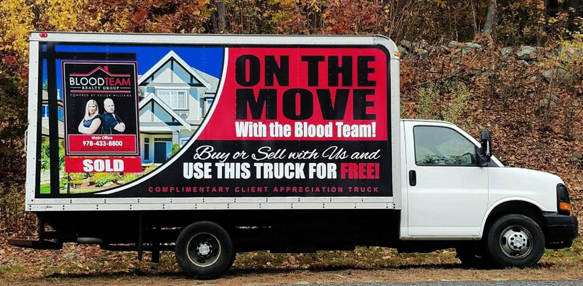 On the move with the Blood Team!