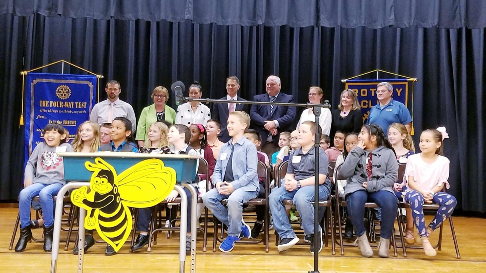 Brendan Crotty – Southern Sussex Rotary literacy chair ran the Spelling Bee