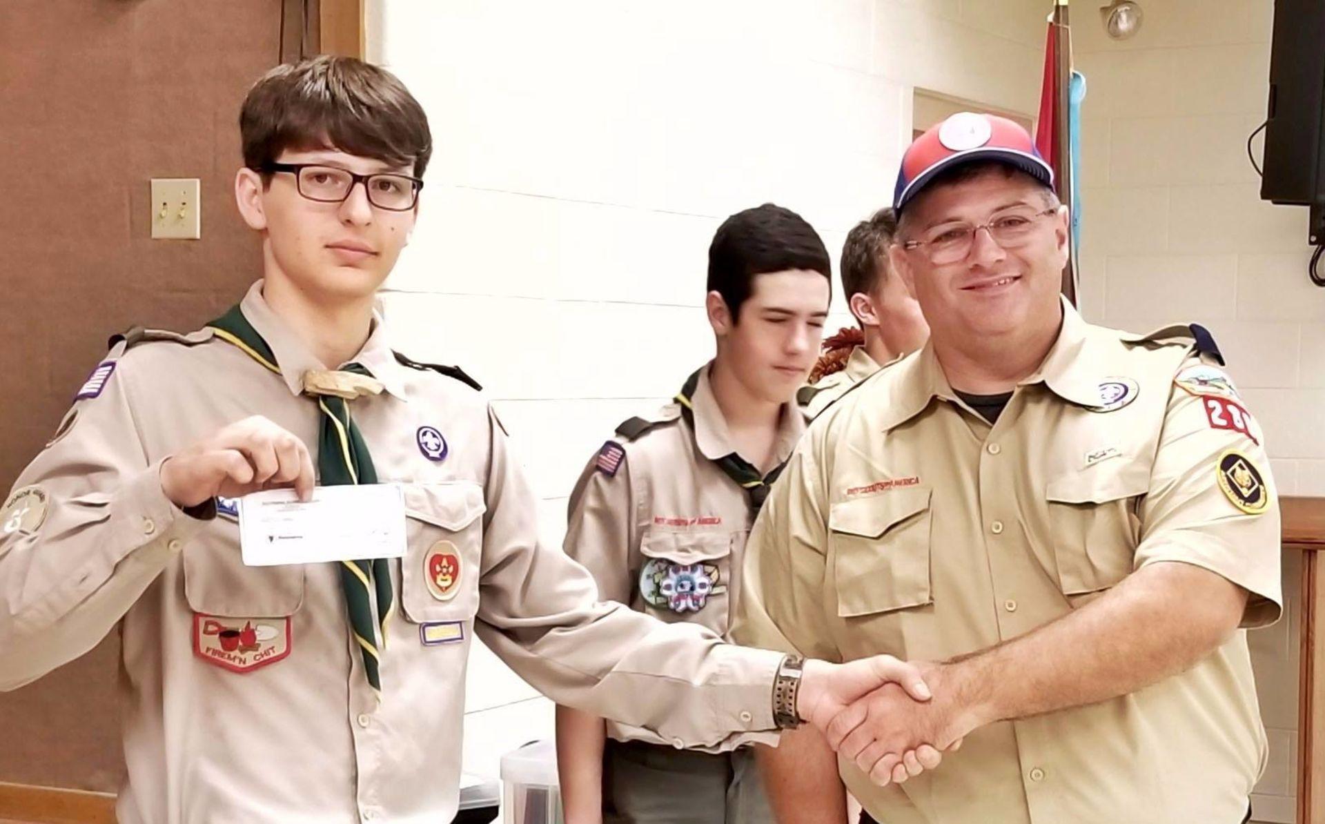 Eagle Scout, Brendan Crotty…