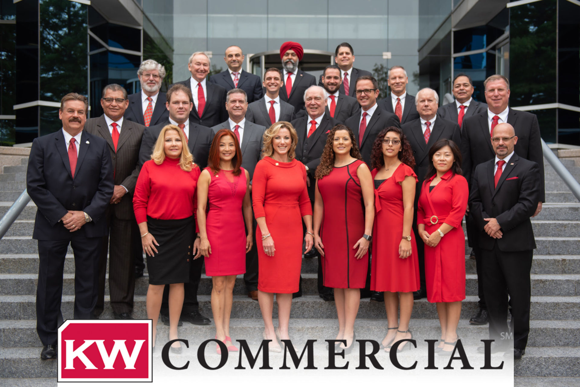 Commercial real Estate web page