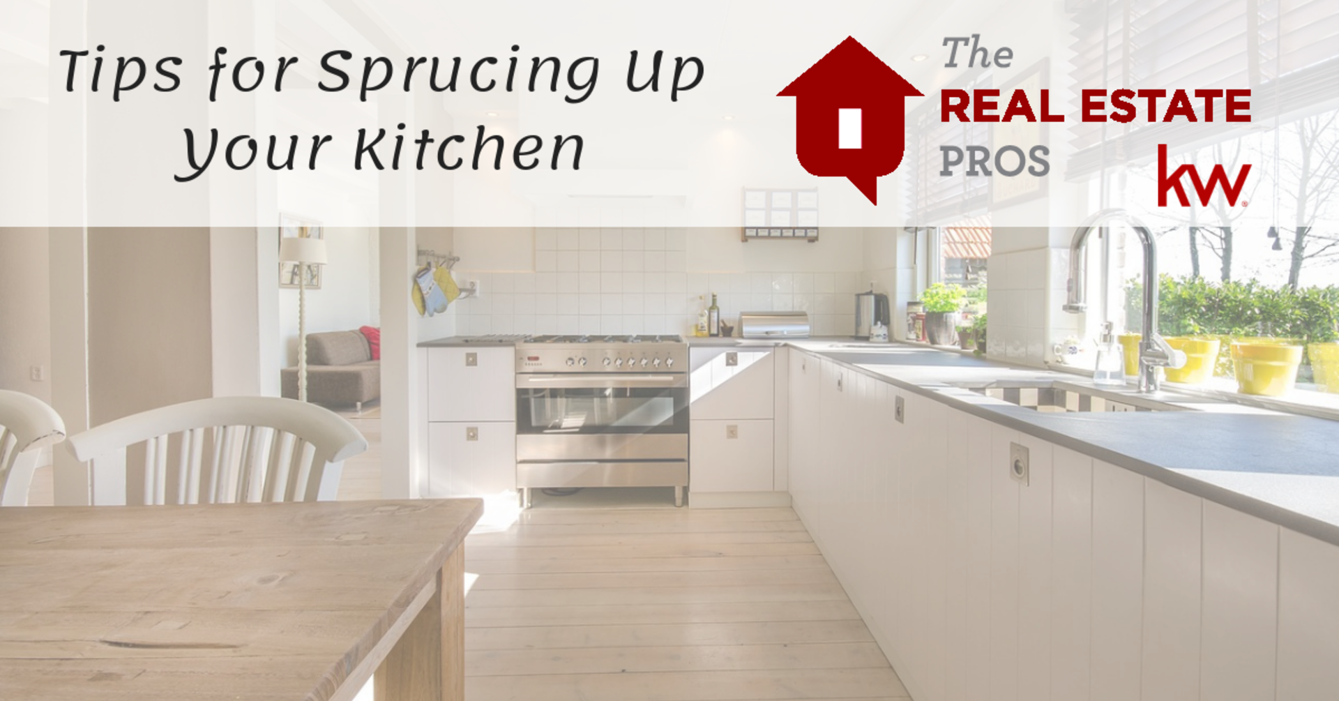 Tips for Sprucing Up Your Kitchen