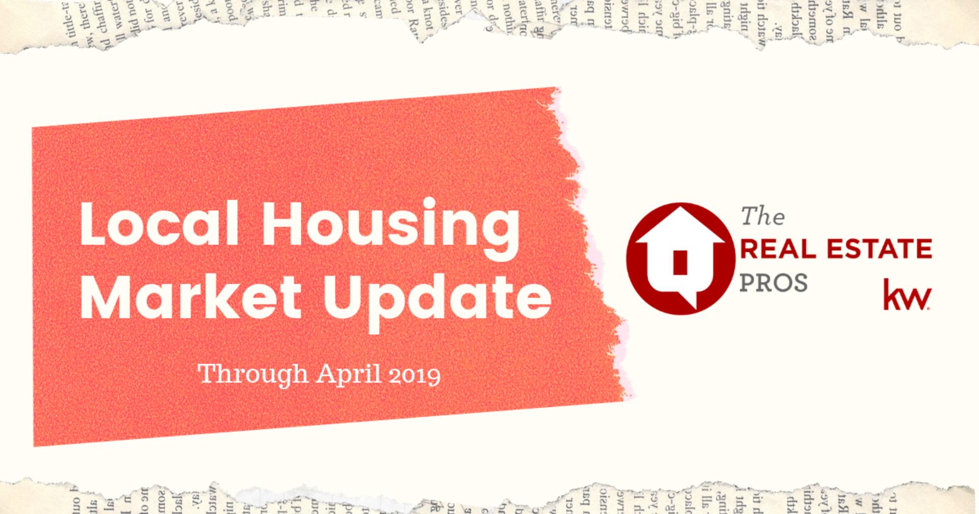 Local Housing Market News through April '19