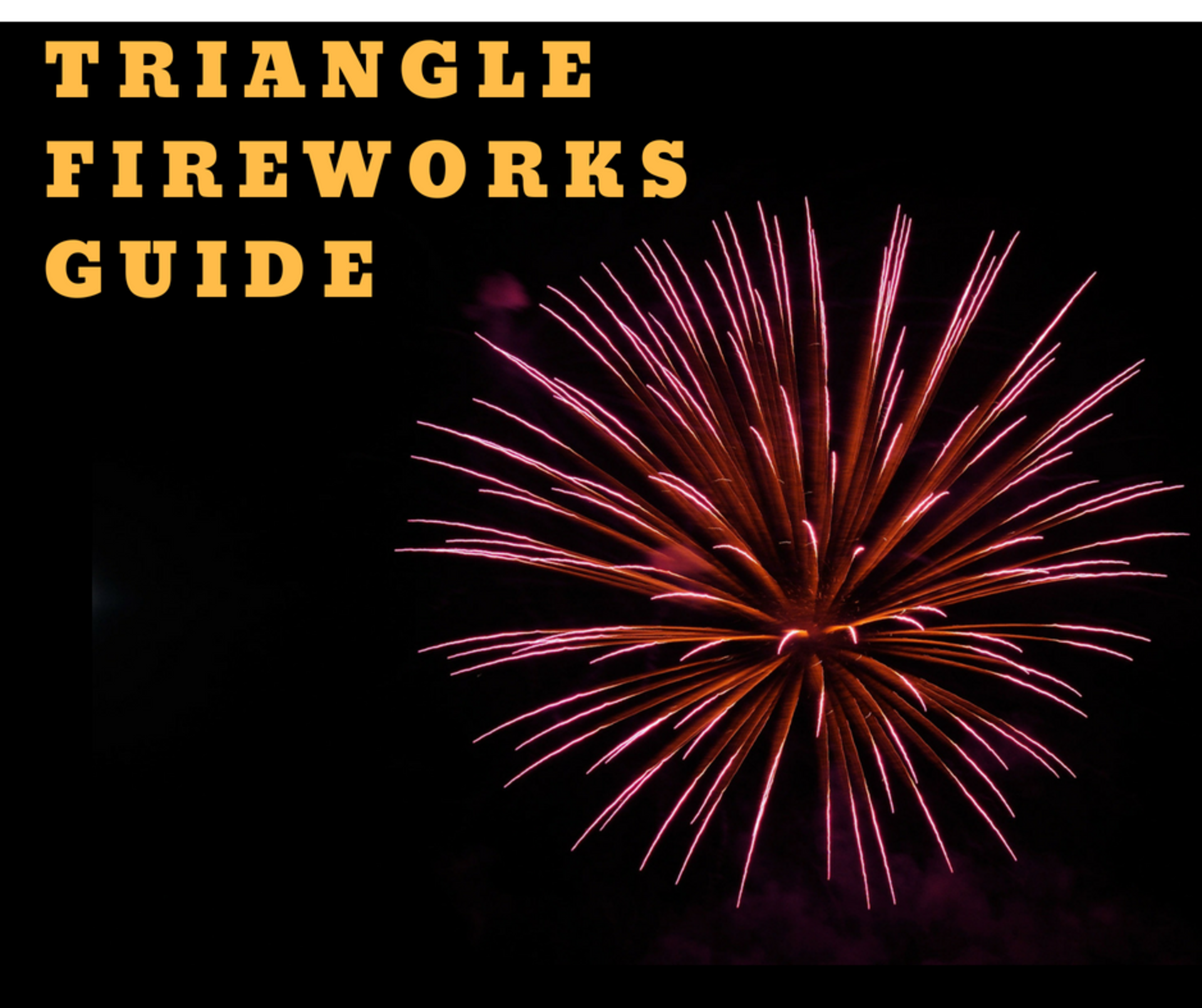 July Fourth Fireworks and Celebrations All Over the Triangle