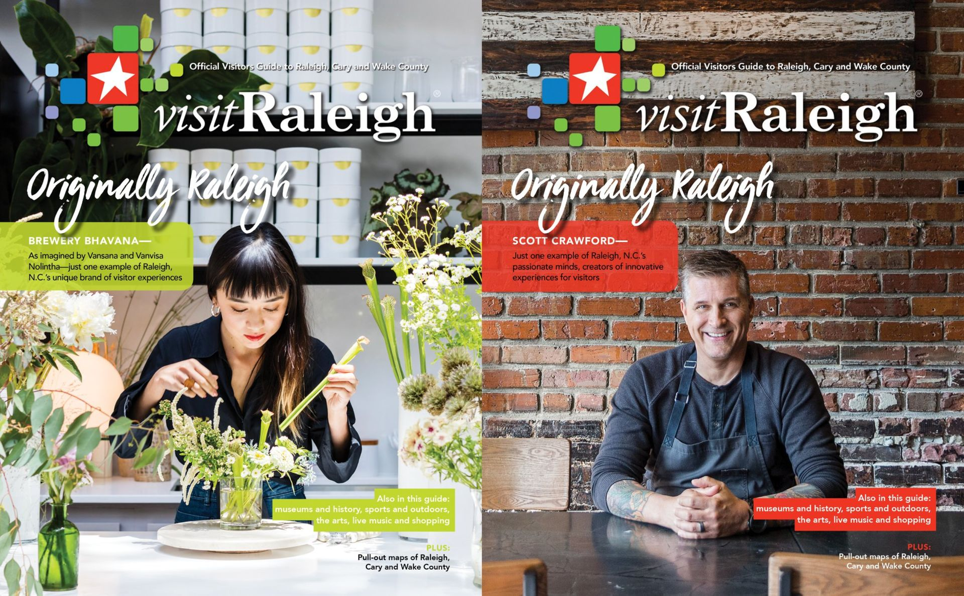 The 2018 VisitRaleigh Guide is Ready for Planning Your Perfect Local Adventure