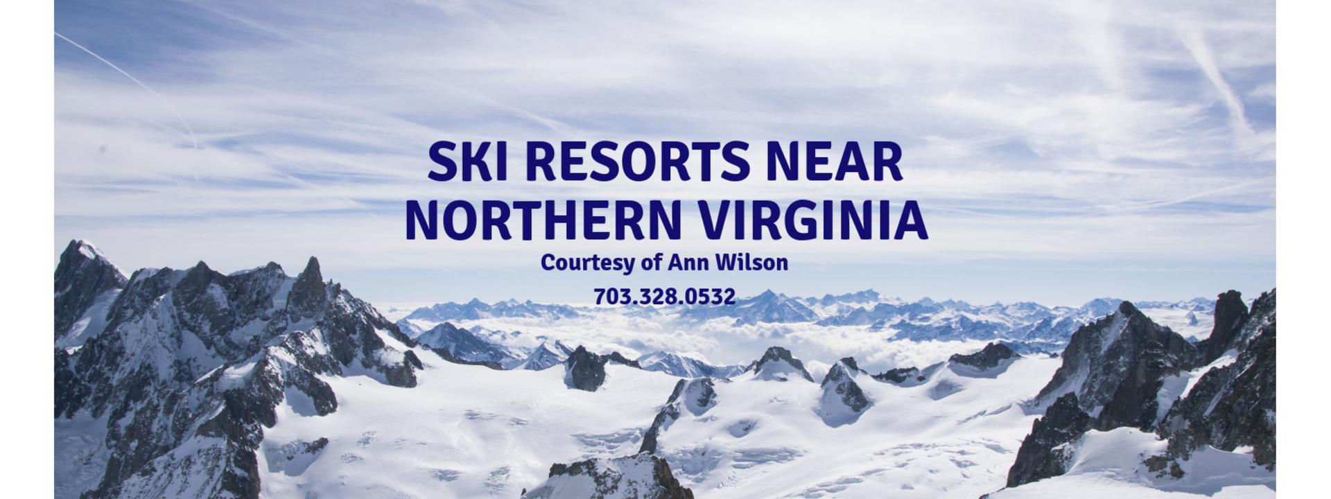 Ski Resorts Near Northern Virginia