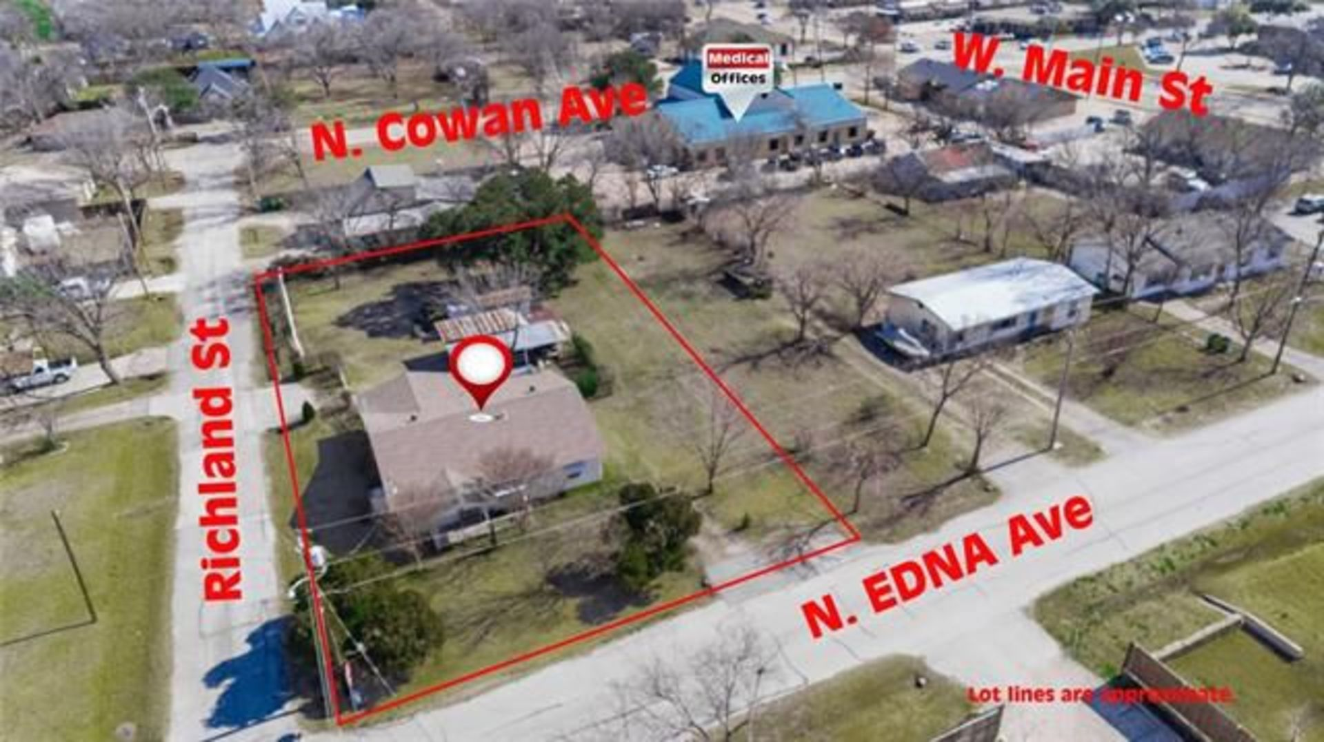 For Sale! 134 N Edna Ave, Lewisville, TX