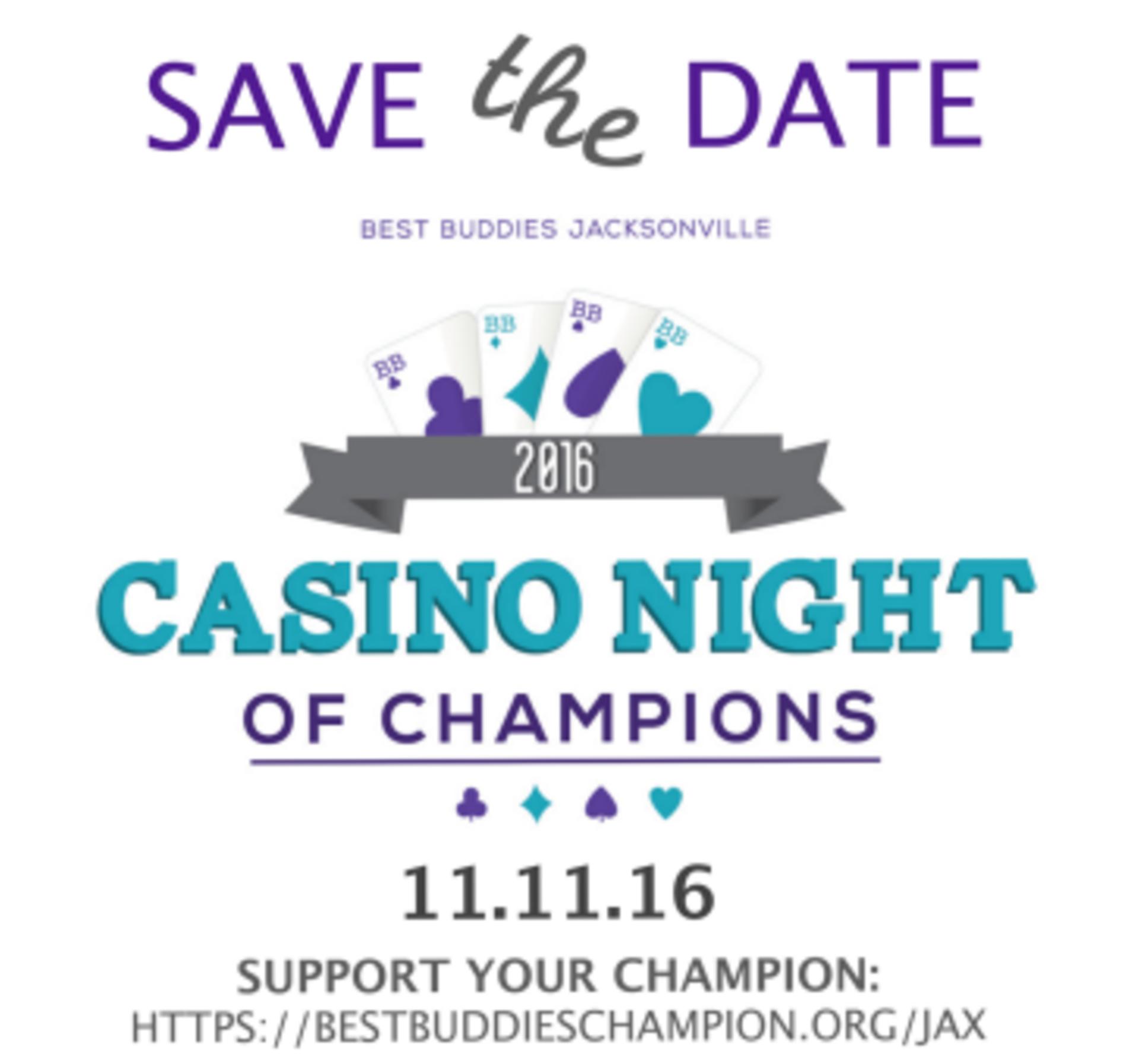 Best Buddies Casino Night