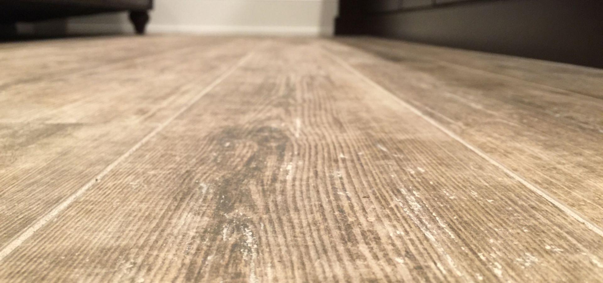 Design Feature: Wood Tile Floors