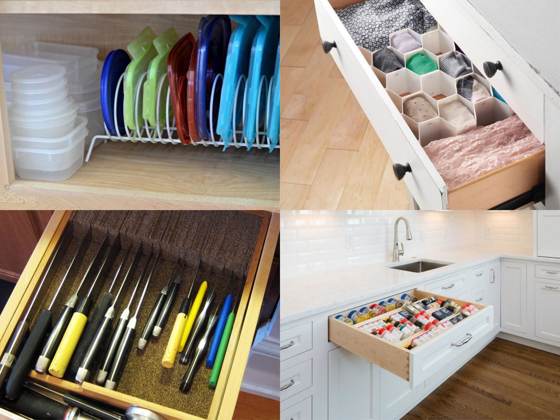 Four Solutions For Messy, Overflowing Drawers