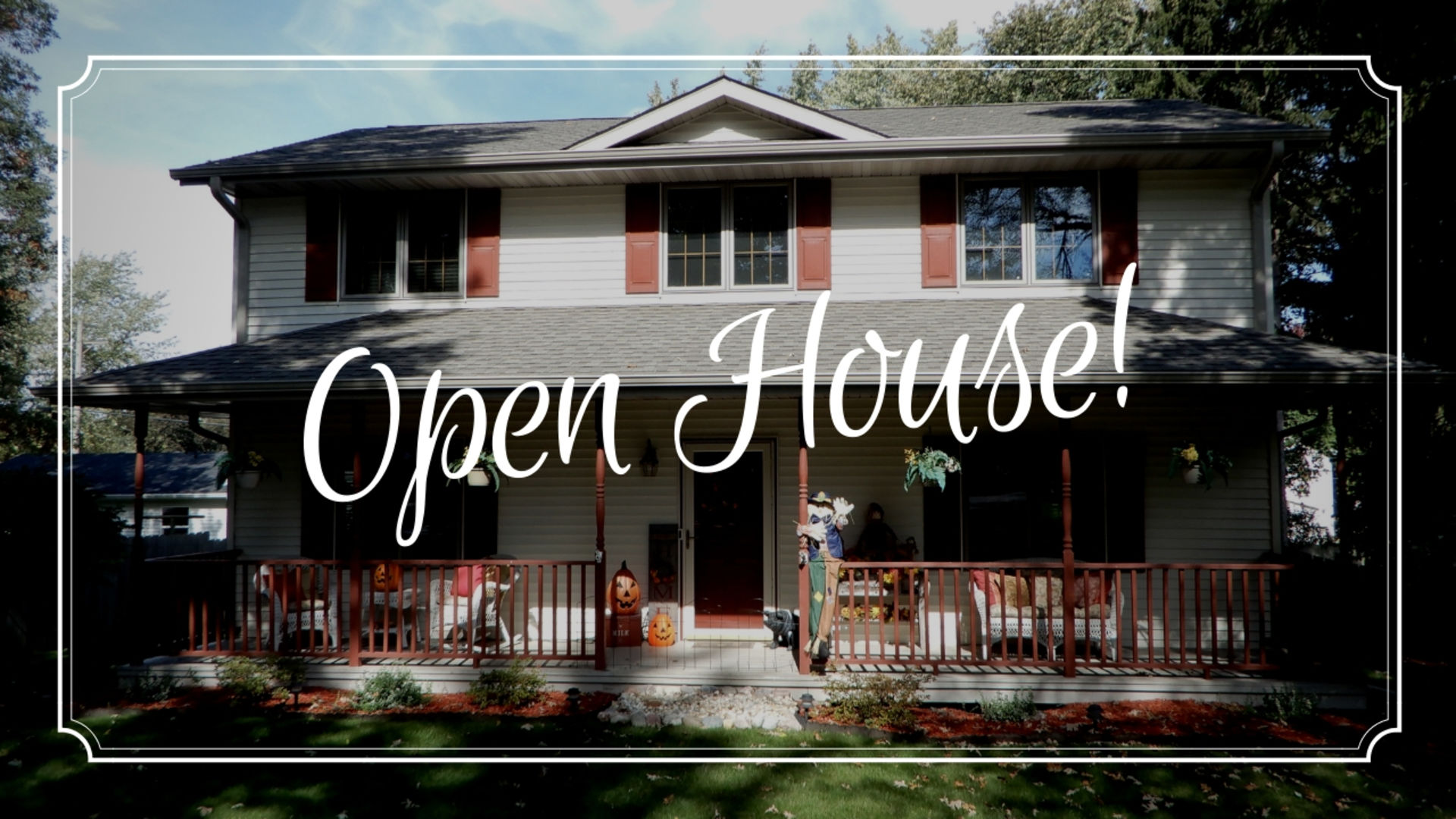 Open House: October 21st 2018