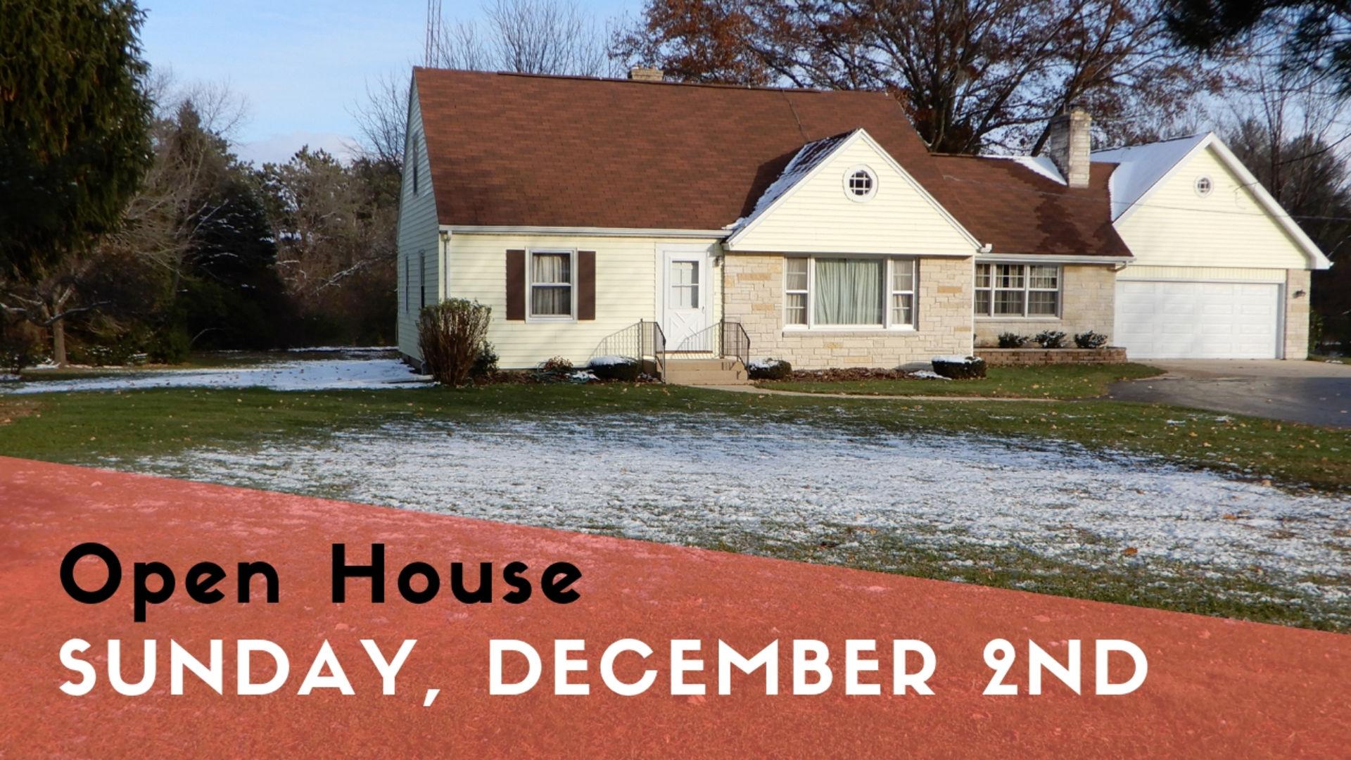 Open House: December 2nd 2018