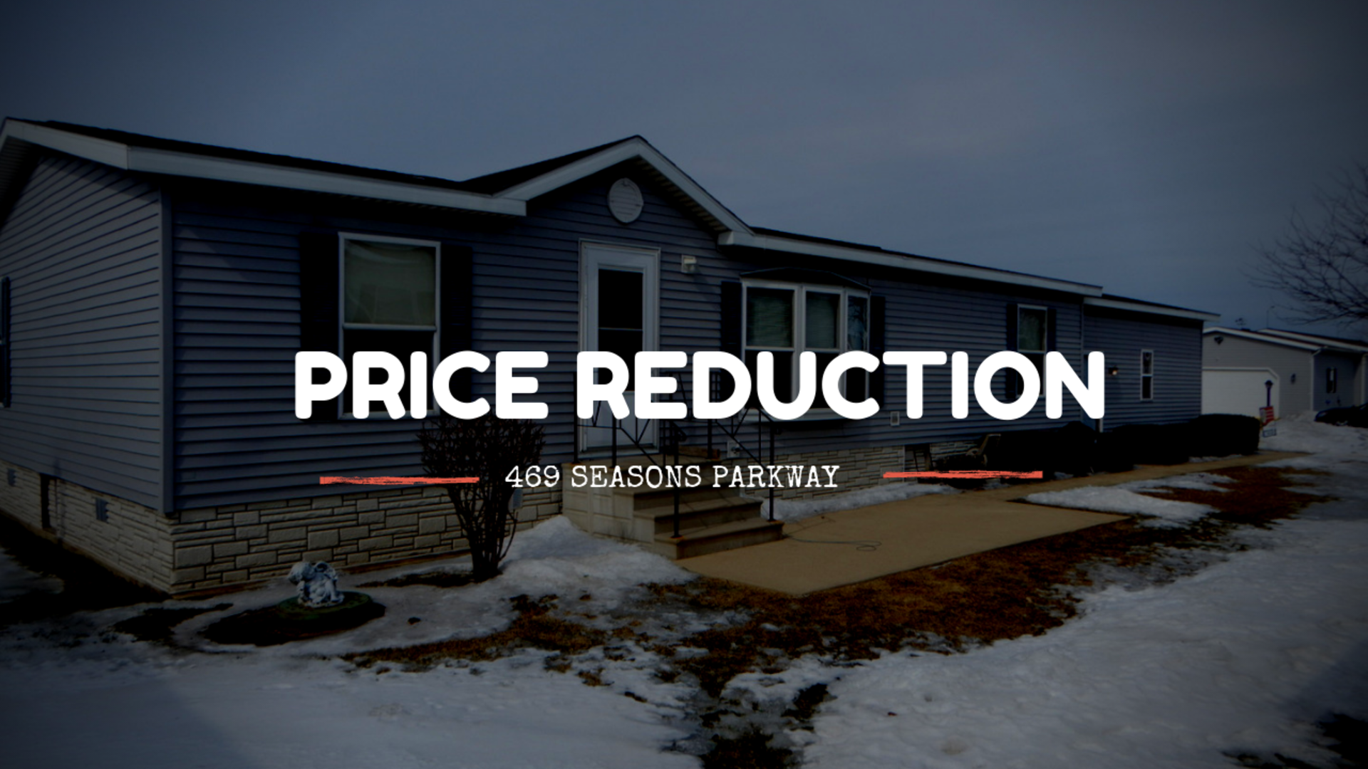 Price Reduction: March 14th 2019