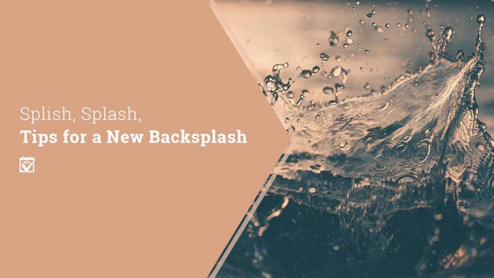 Tips For A New Backsplash