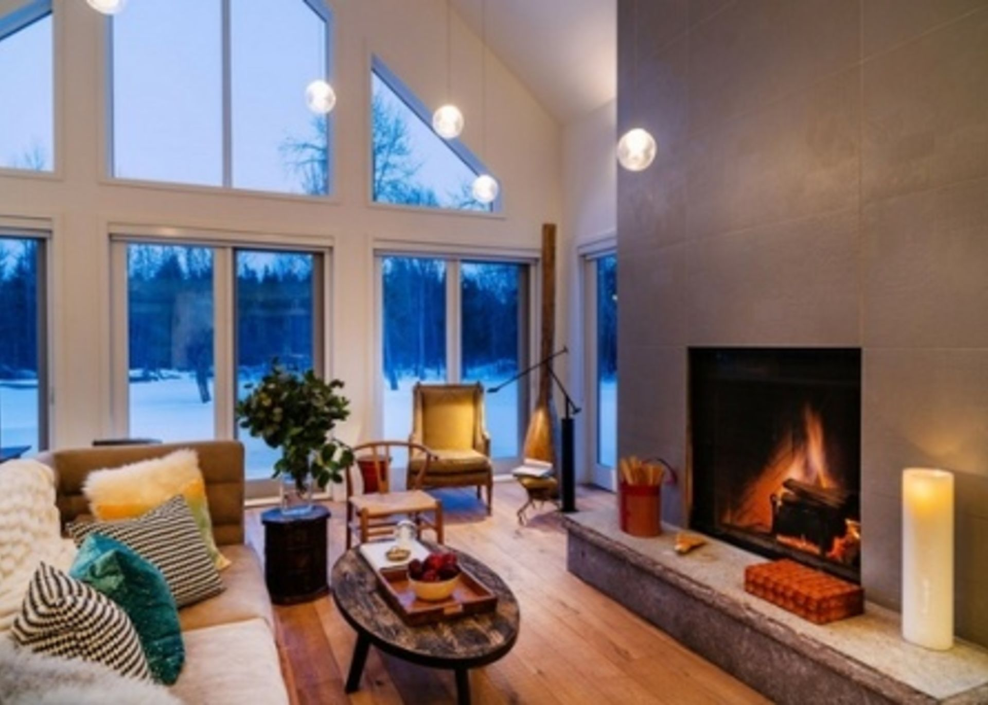 Winter Home Staging Ideas