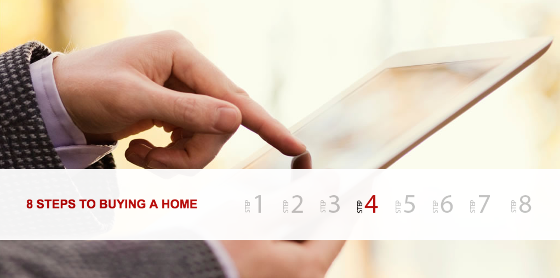 Eight Steps to Buying a Home – Step 4