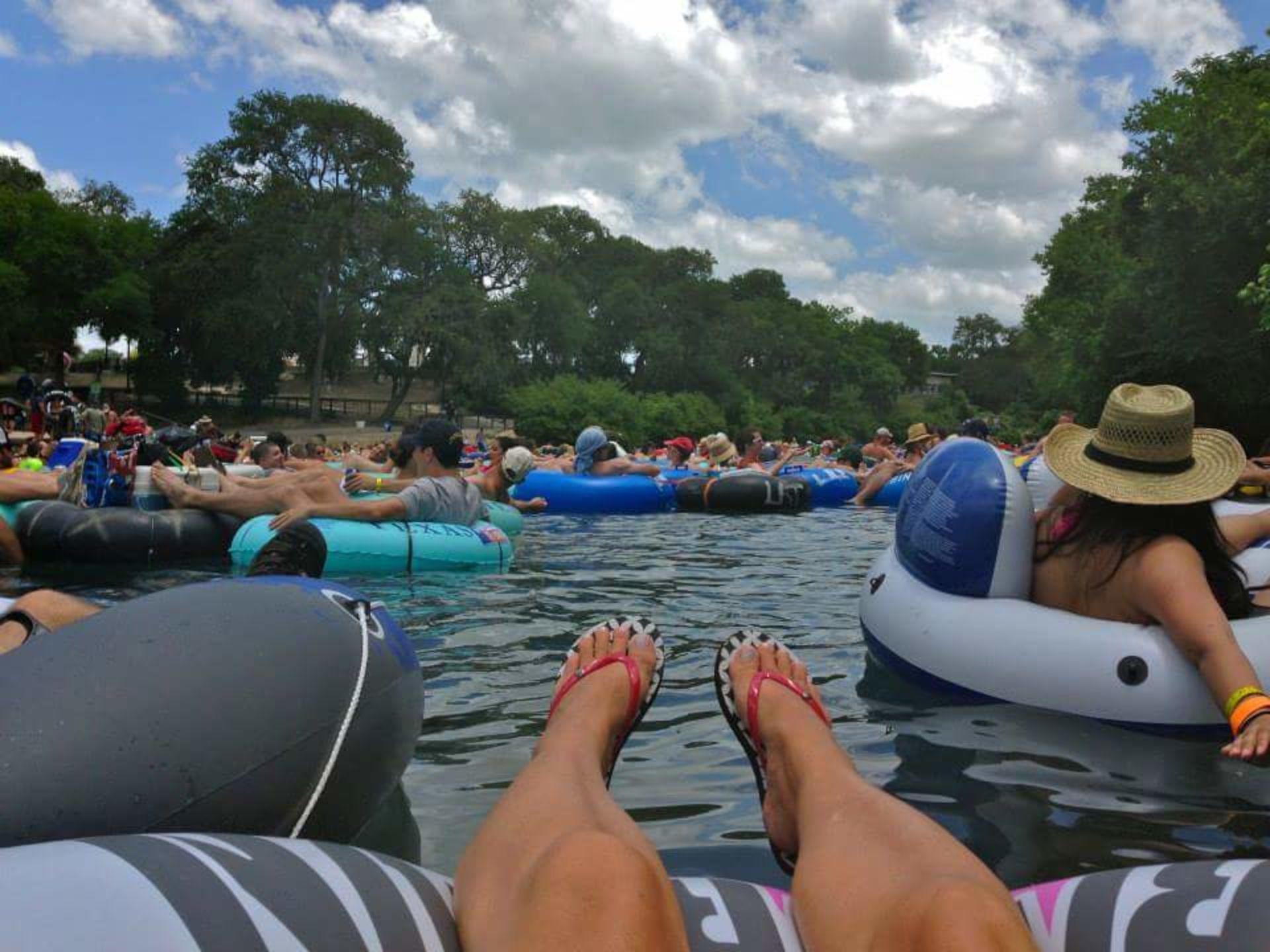 River Fun in New Braunfels!