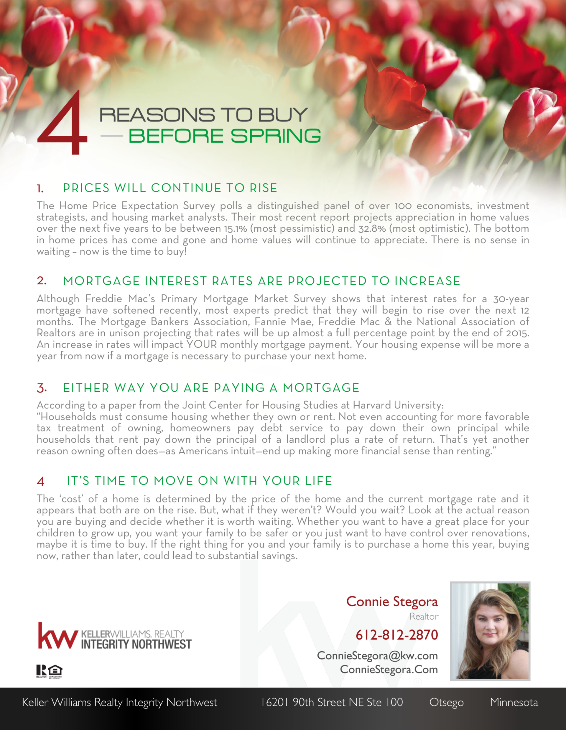 4 Reasons to Buy Before Spring