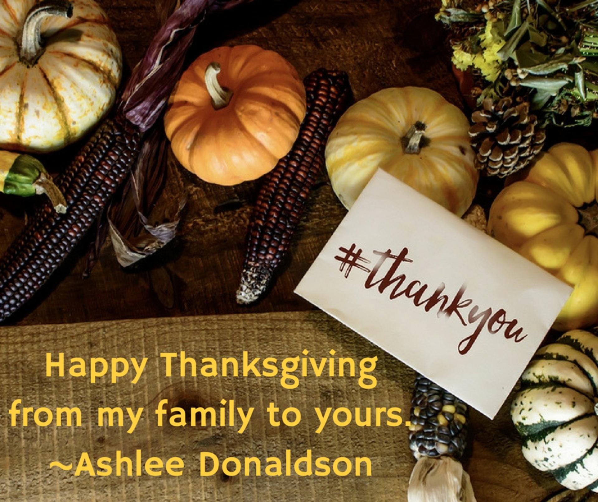 Thank You Thanksgiving