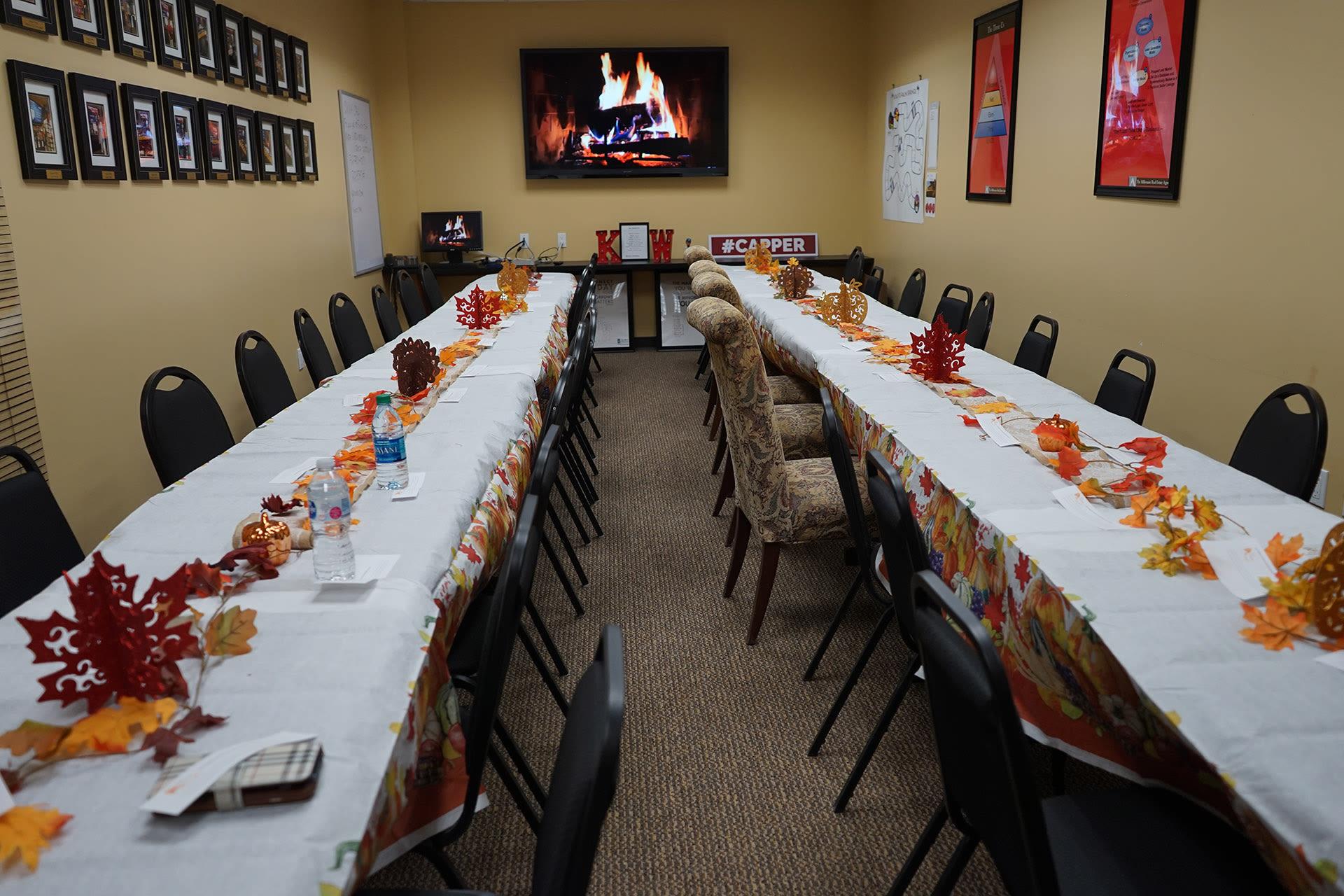 Thanksgiving Potluck 2017