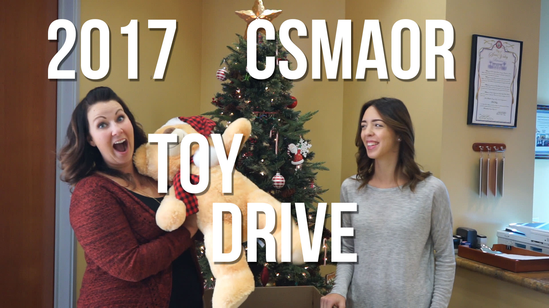 2017 CSMAOR Toy Drive