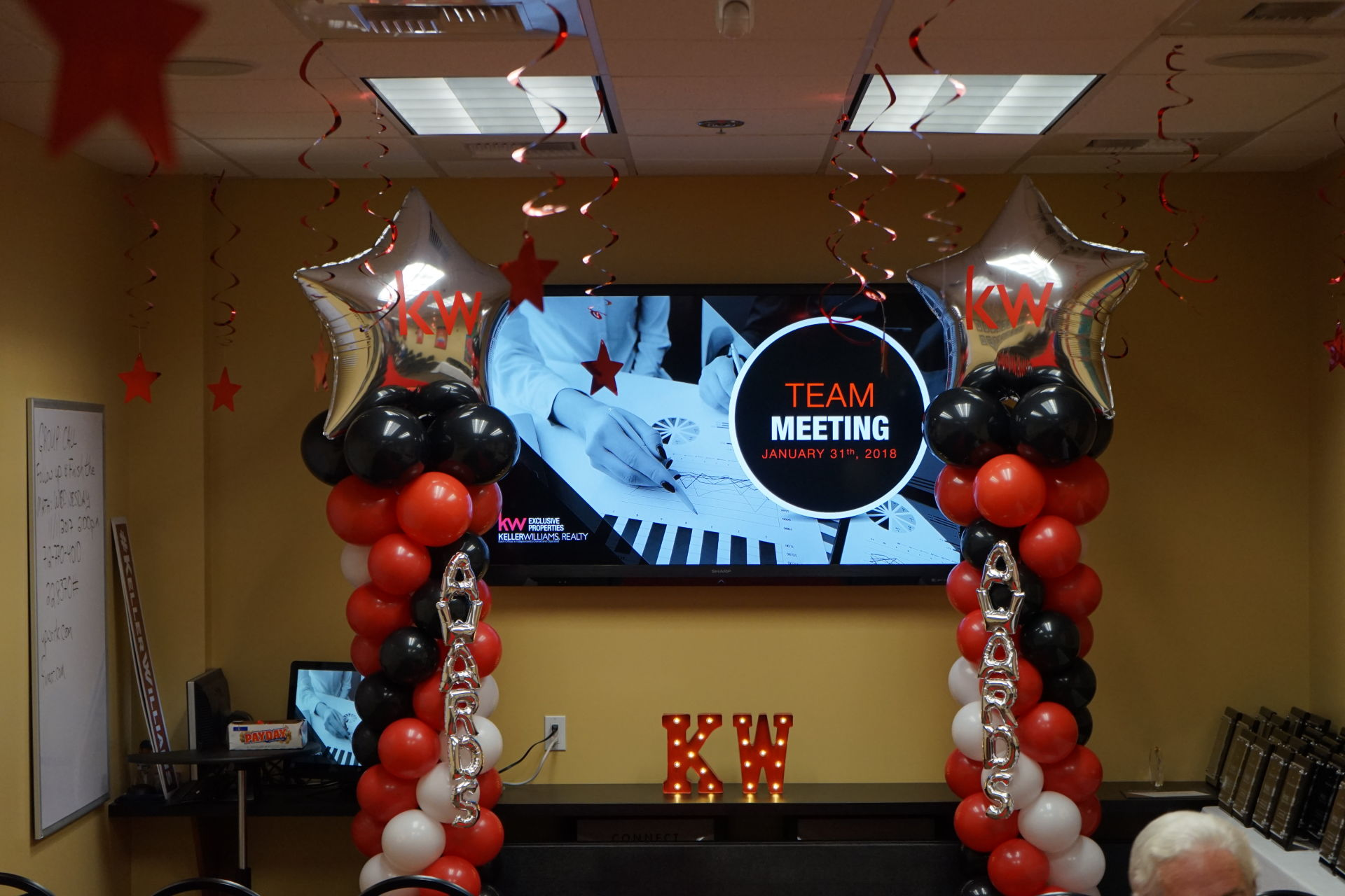 2017 Sales Award Meeting