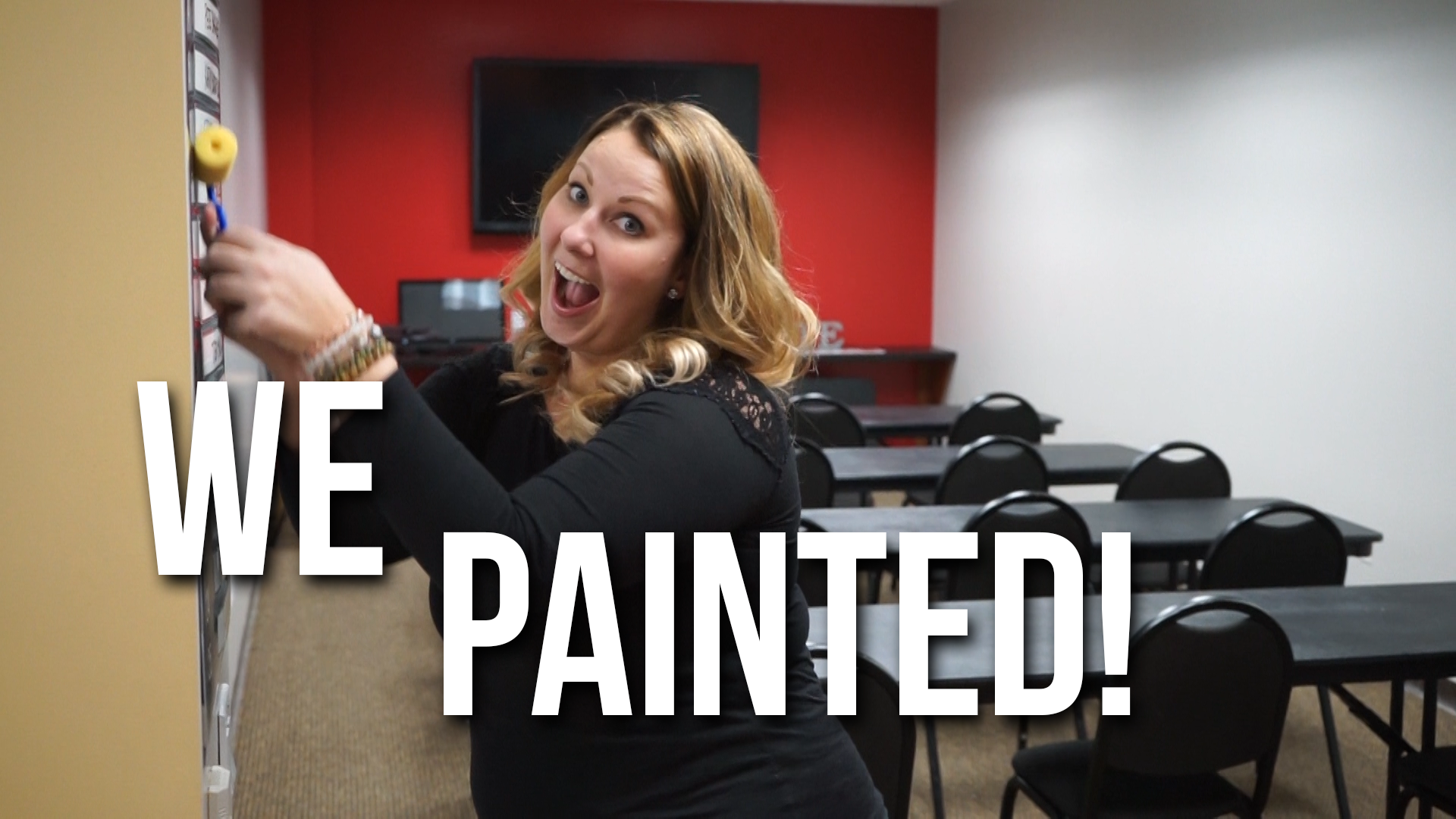 WE PAINTED!!