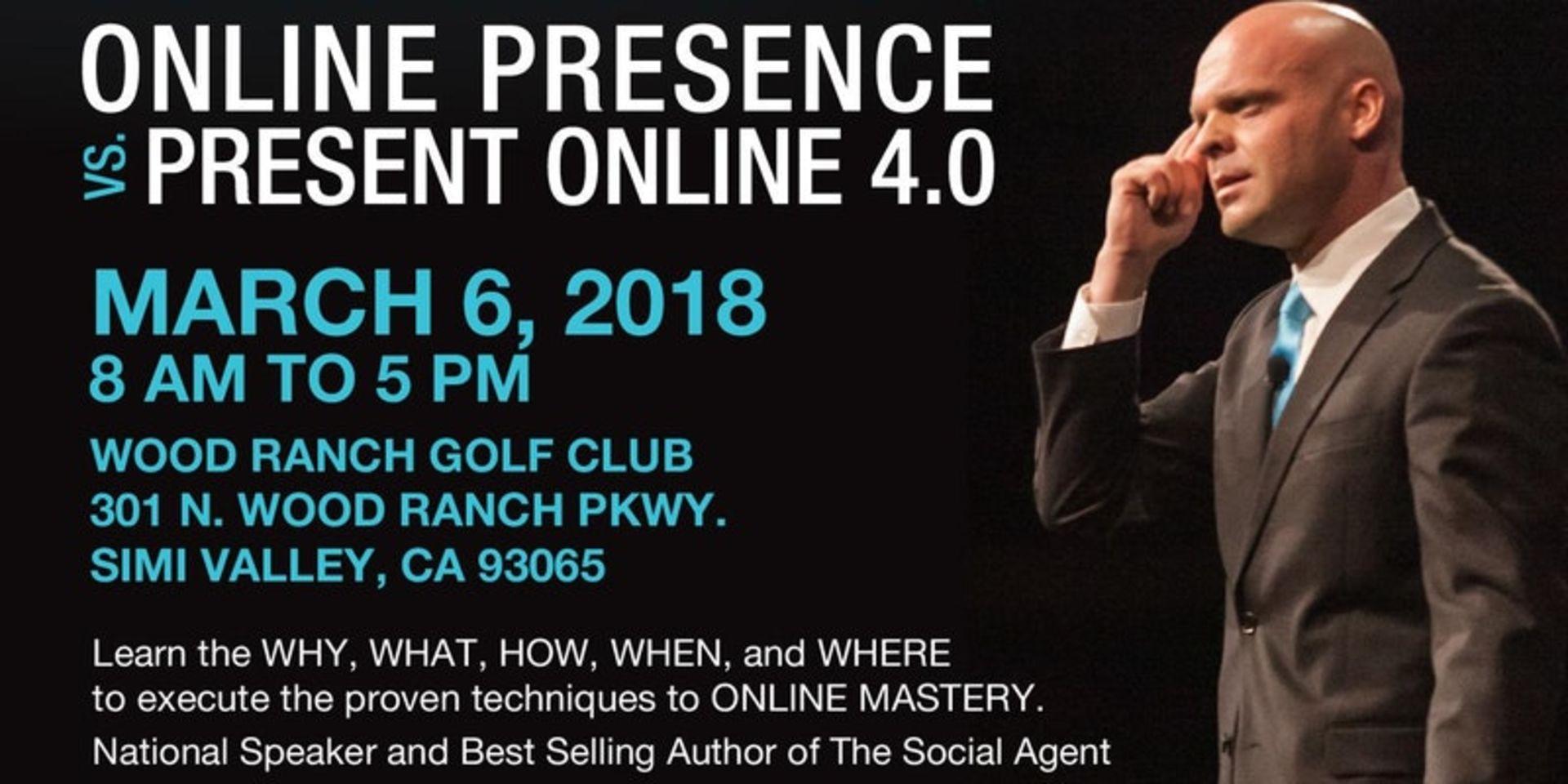 Tony Giordano: Online Presence vs. Present Online