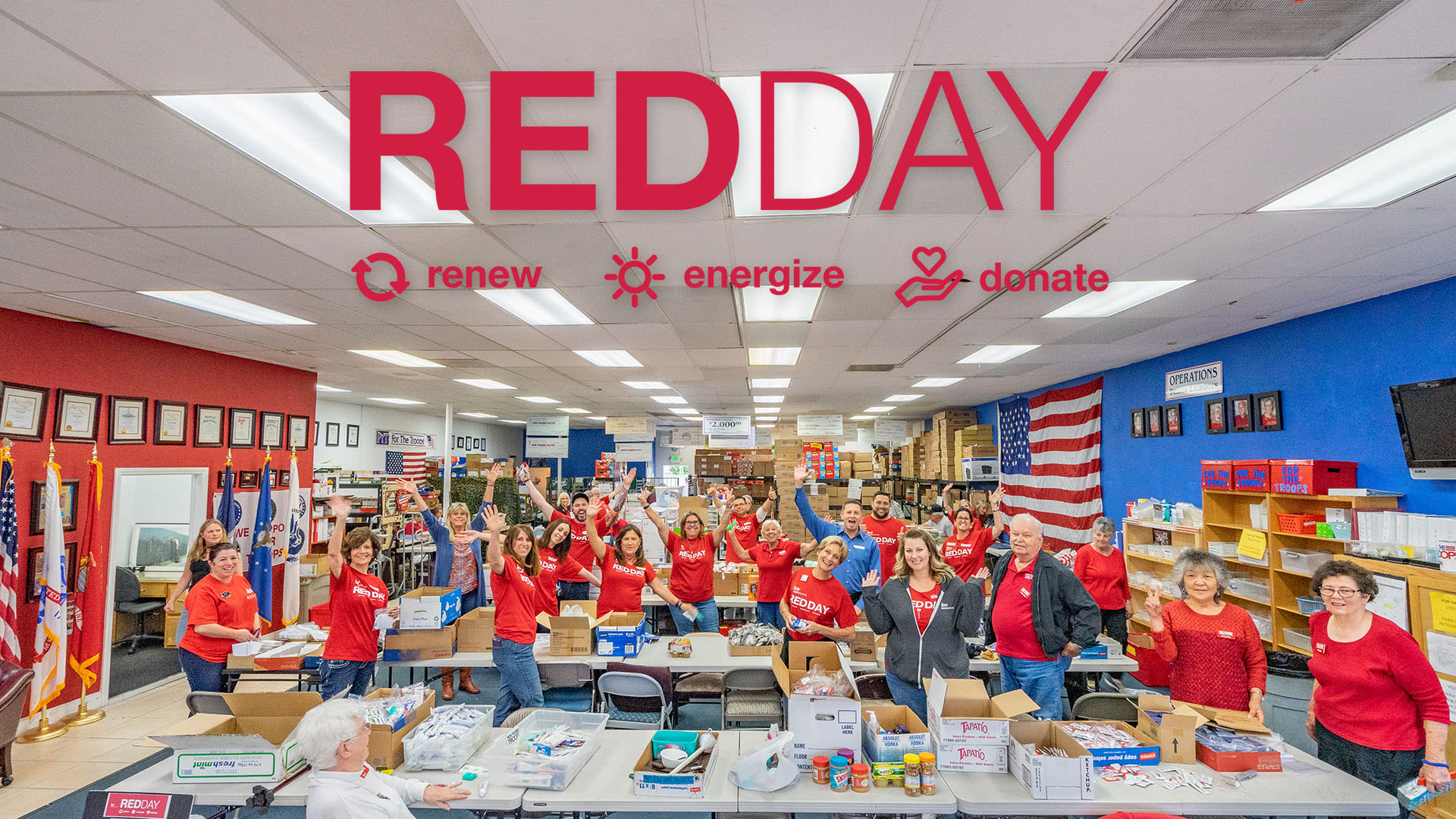 RED Day 2019 – For The Troops!