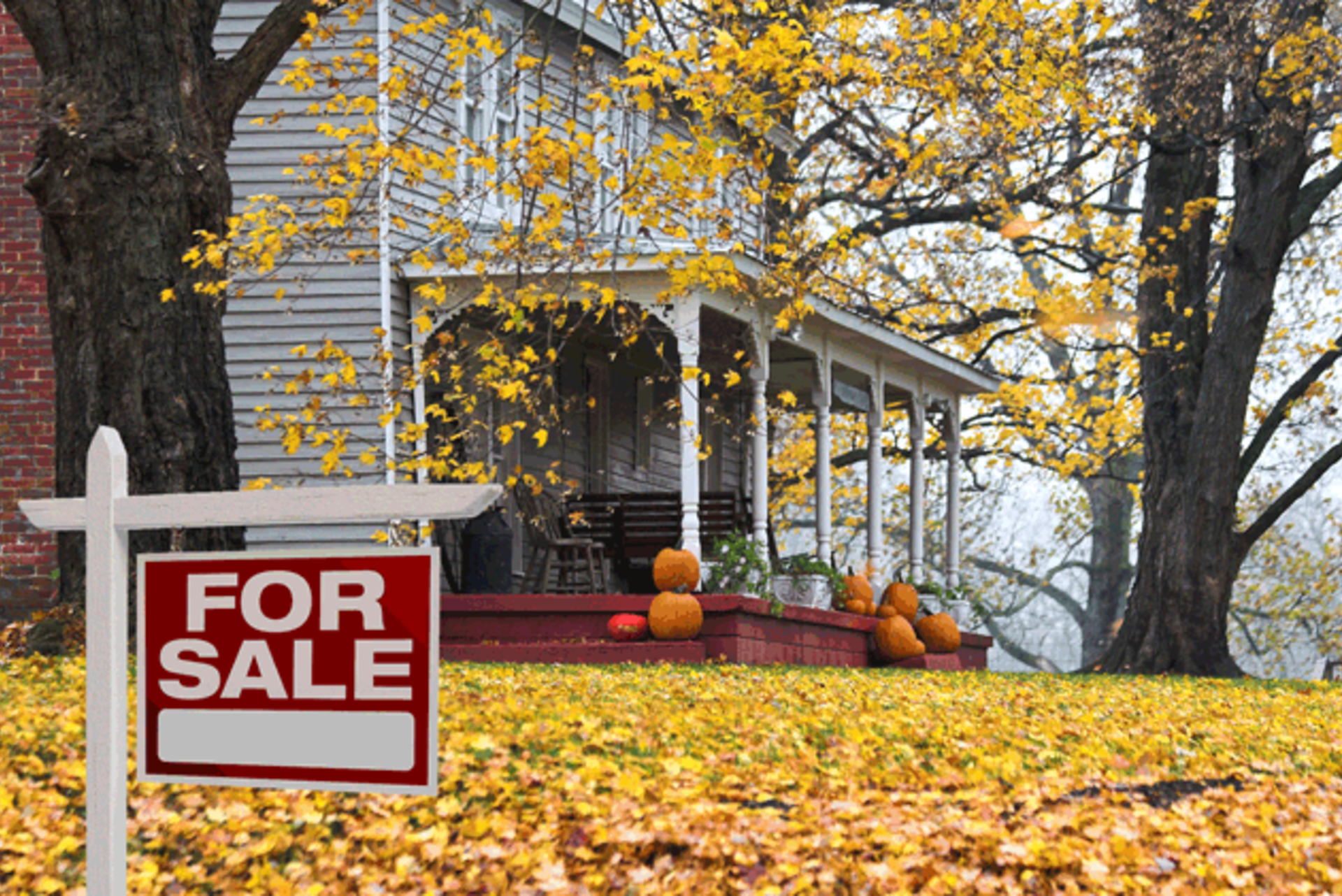Selling a home in fall & winter months
