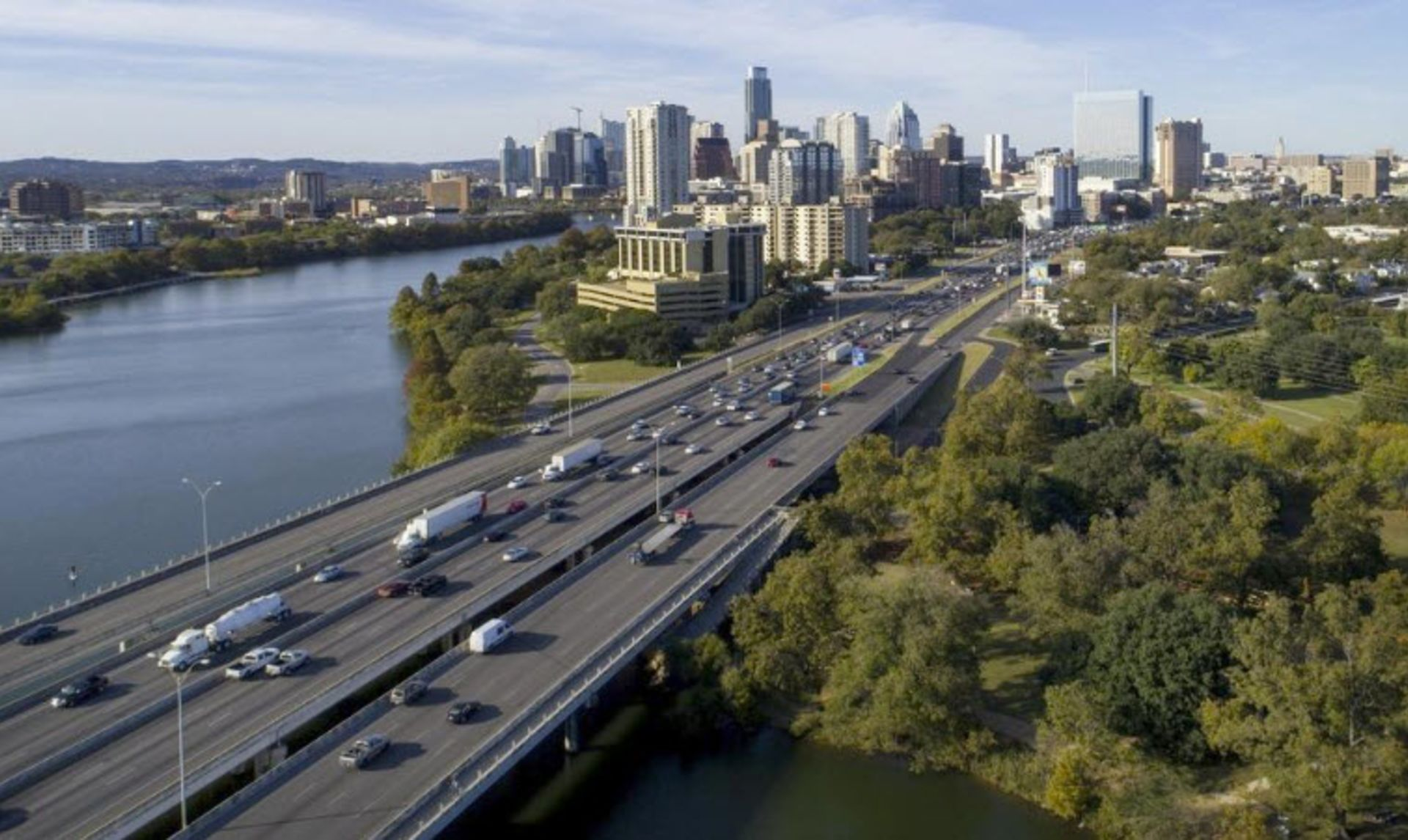 New lanes coming to I-35, but not in downtown Austin