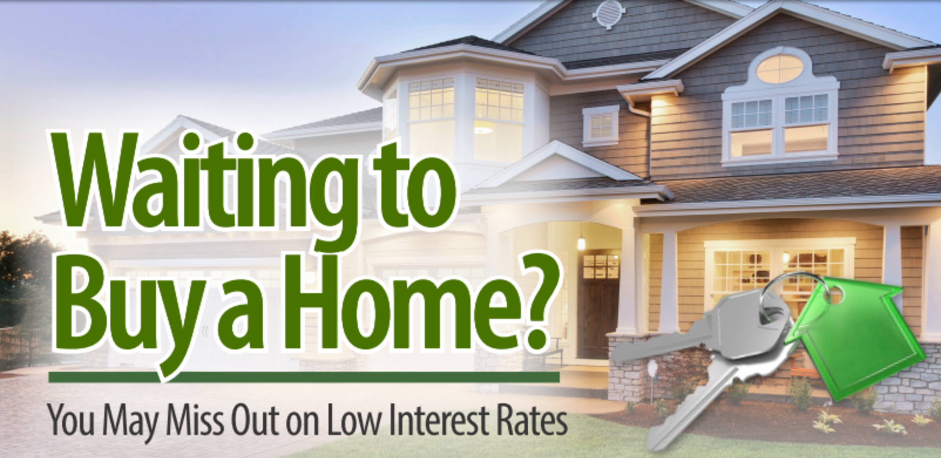 Are you thinking about buying a house this year?