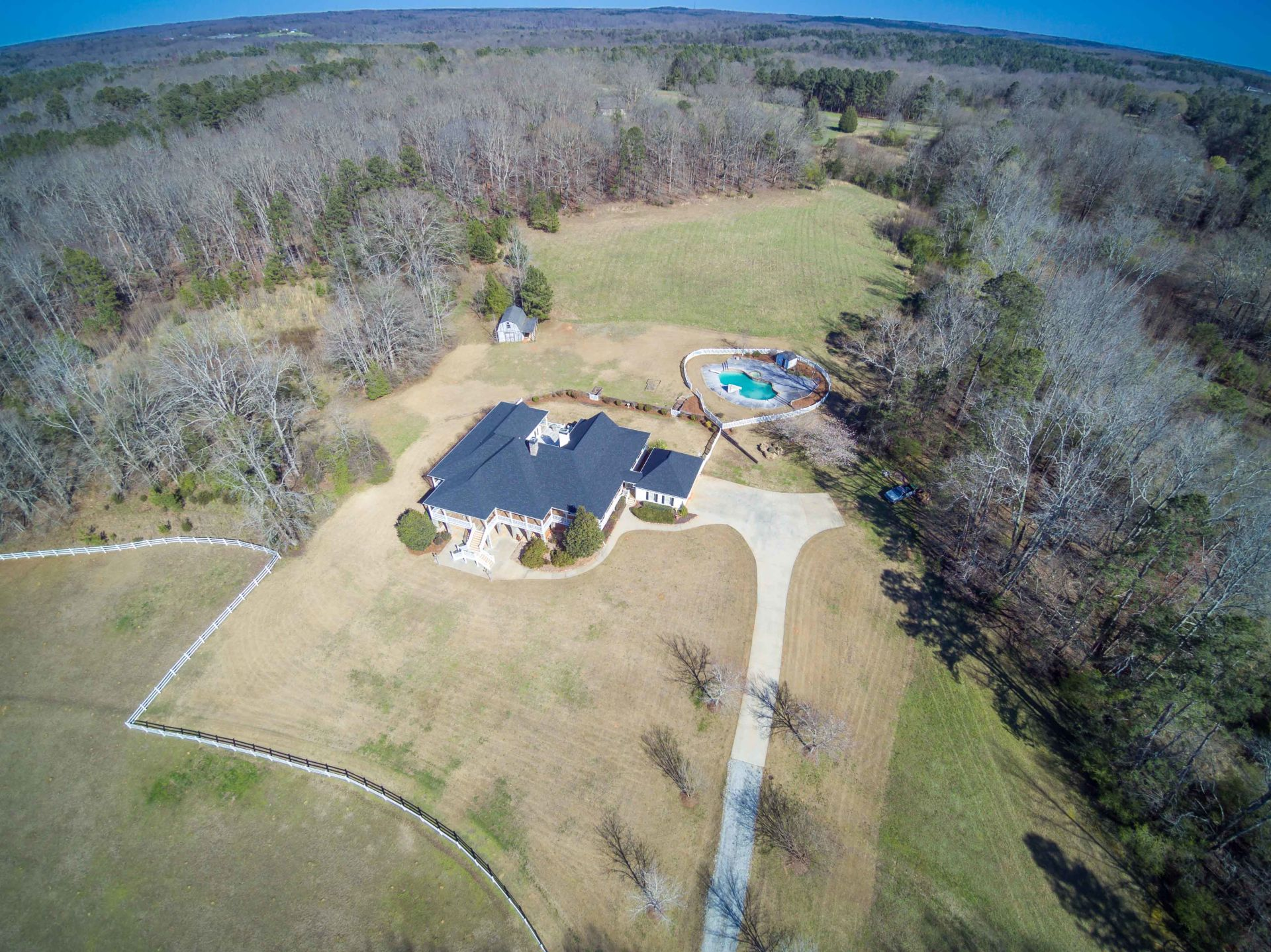 Estate Home on 15 acres in Northeast Georgia