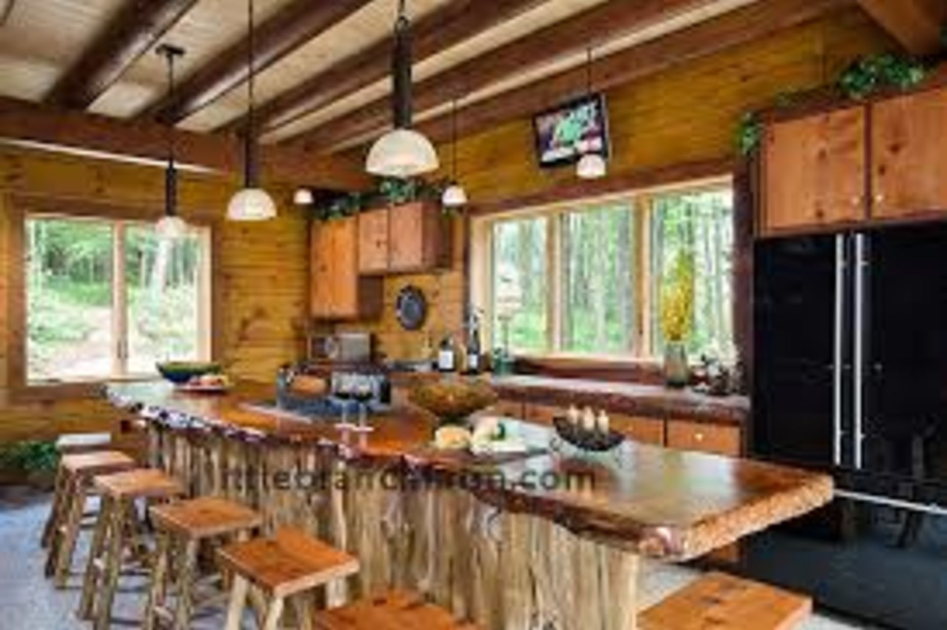 WOW – I LOVE this Country Kitchen