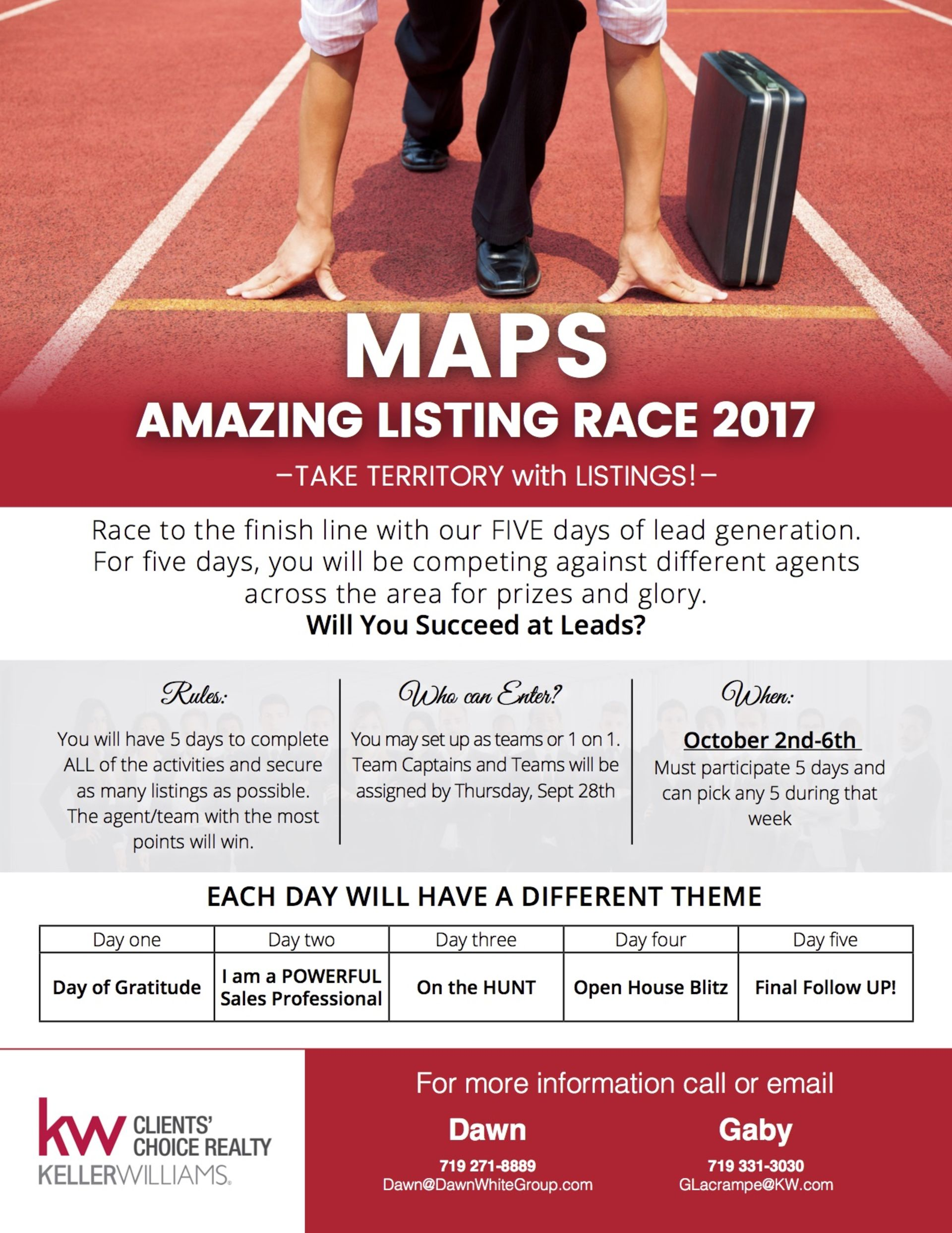 Amazing Listing Race – Are you interested in participating?