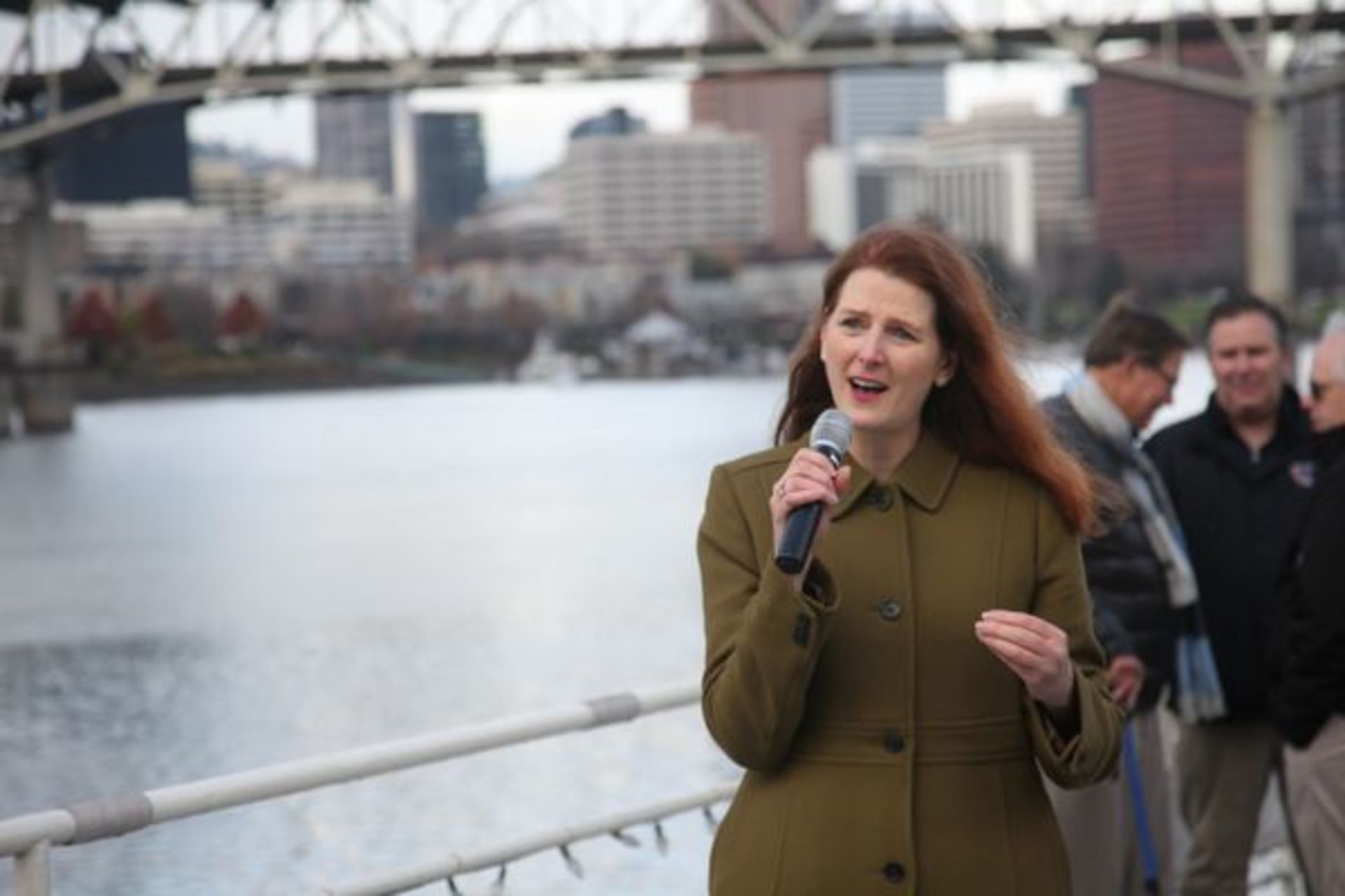 Portland Mayor Ted Wheeler 'fully supports' studying passenger ferry for Columbia, Willamette rivers