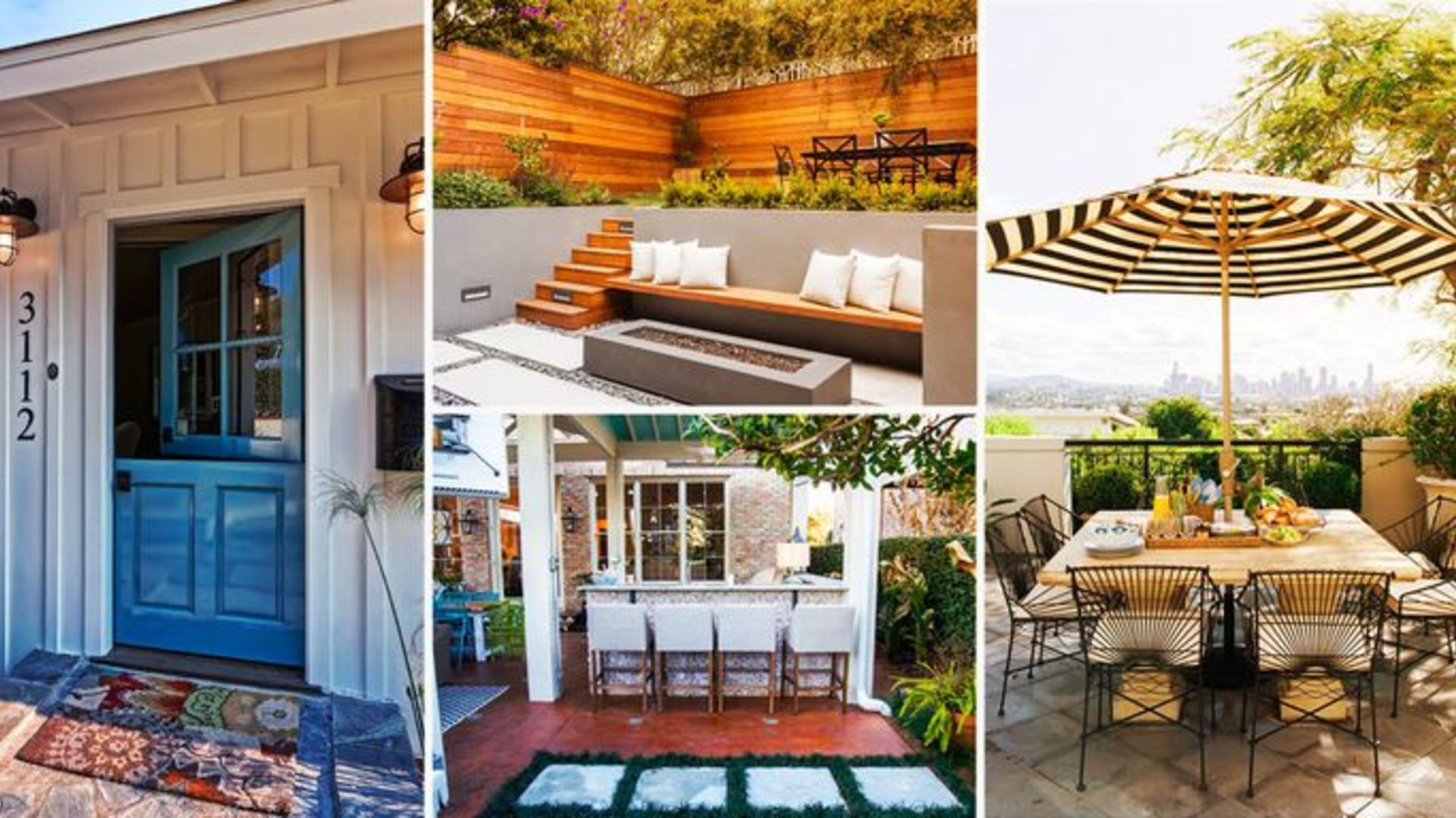 Party in the Front! The Year's Biggest Outdoor Design Trends Relocate the Action