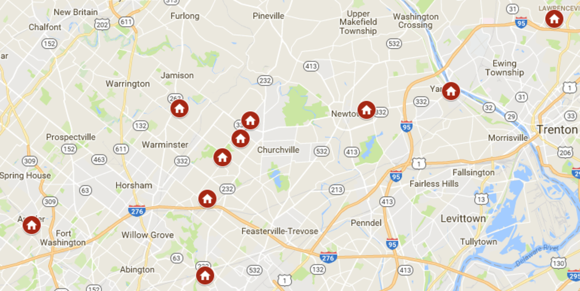 Keller Williams Newtown's open houses August 26th – August 27th