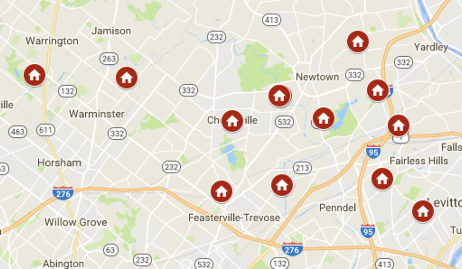 Keller Williams Newtown's open houses November 11th – November 12th