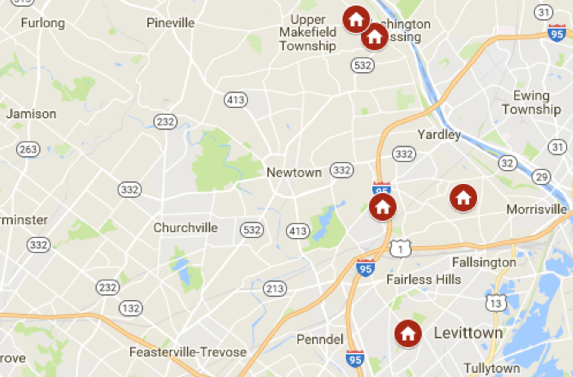 Keller Williams Newtown's open houses January 6th – January 7th