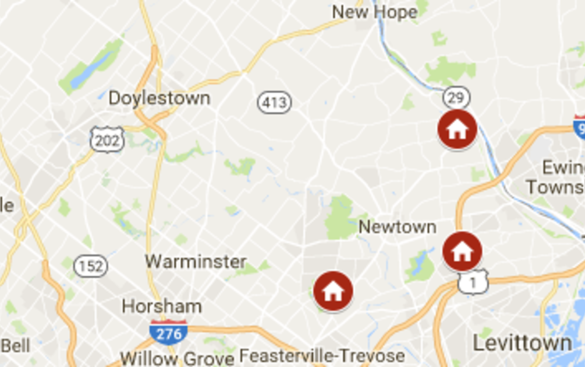 Keller Williams Newtown's open houses January 13th – January 14th
