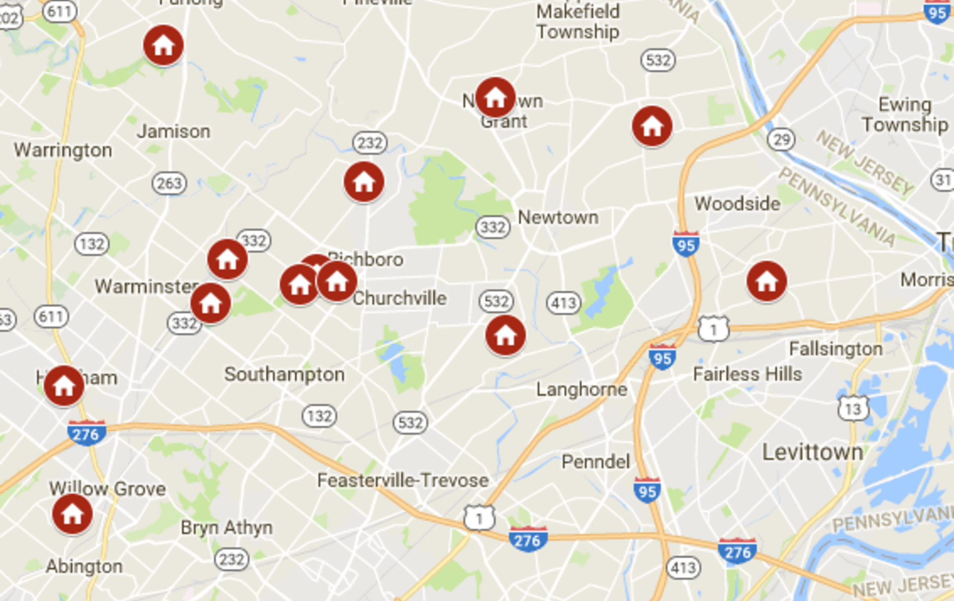 Keller Williams Newtown Open Houses June 23rd – June 24th