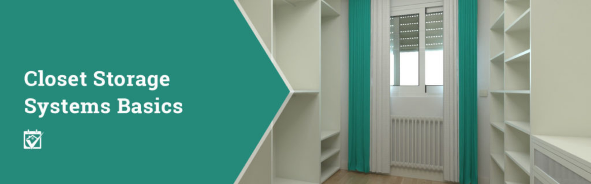 Closet Storage Systems Basics