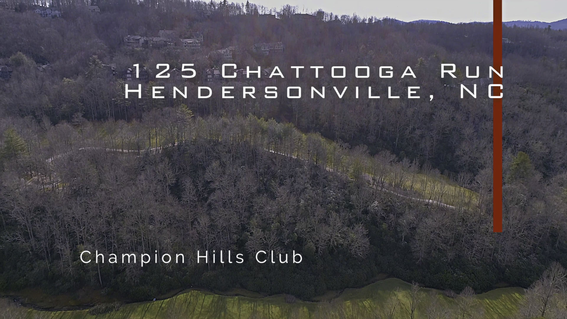 Great lot in Champion Hills!
