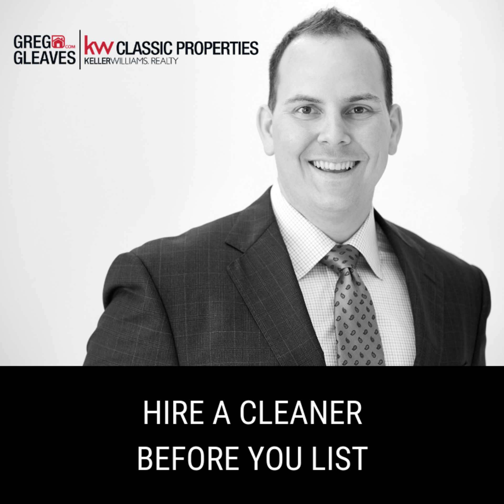 Hire A Professional Cleaner Before You List
