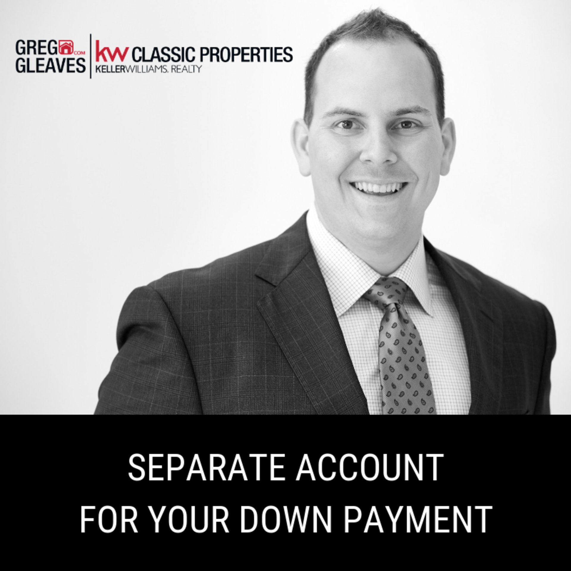 Separate Account For Your Down Payment