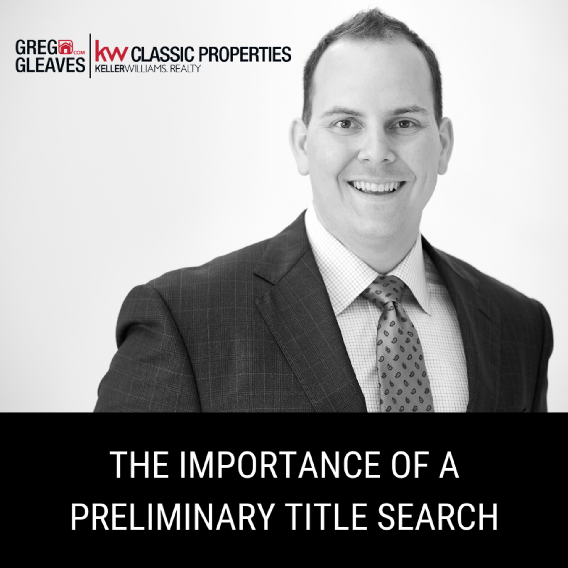 The Importance Of A Preliminary Title Search