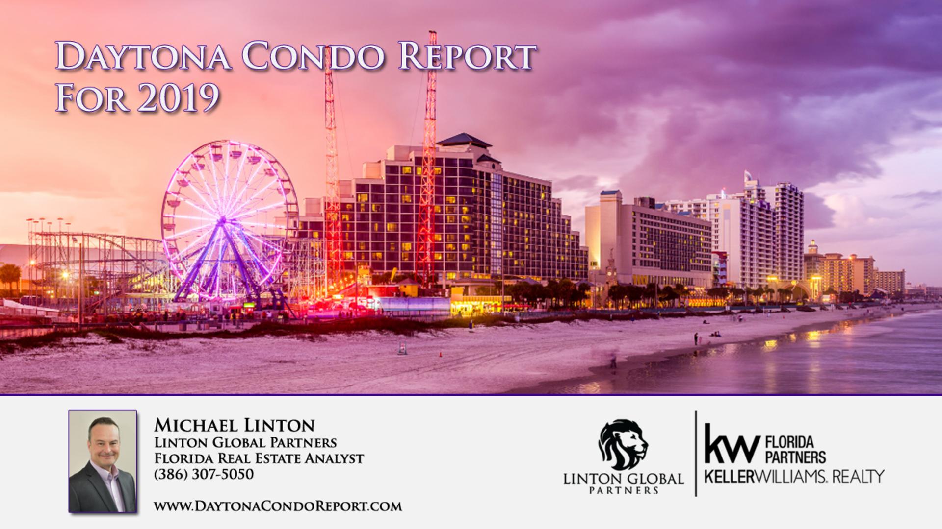 2019 Daytona Condo Report