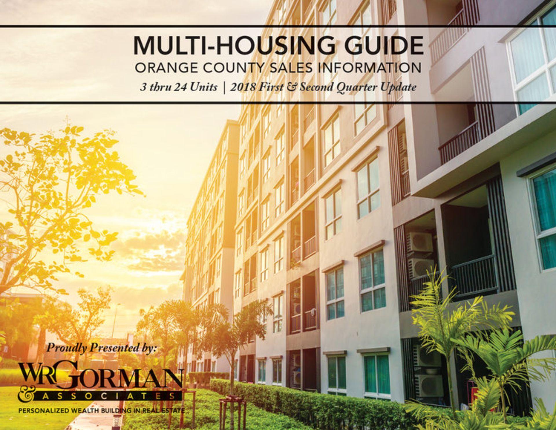 ORANGE COUNTY MULTI-HOUSING GUIDE