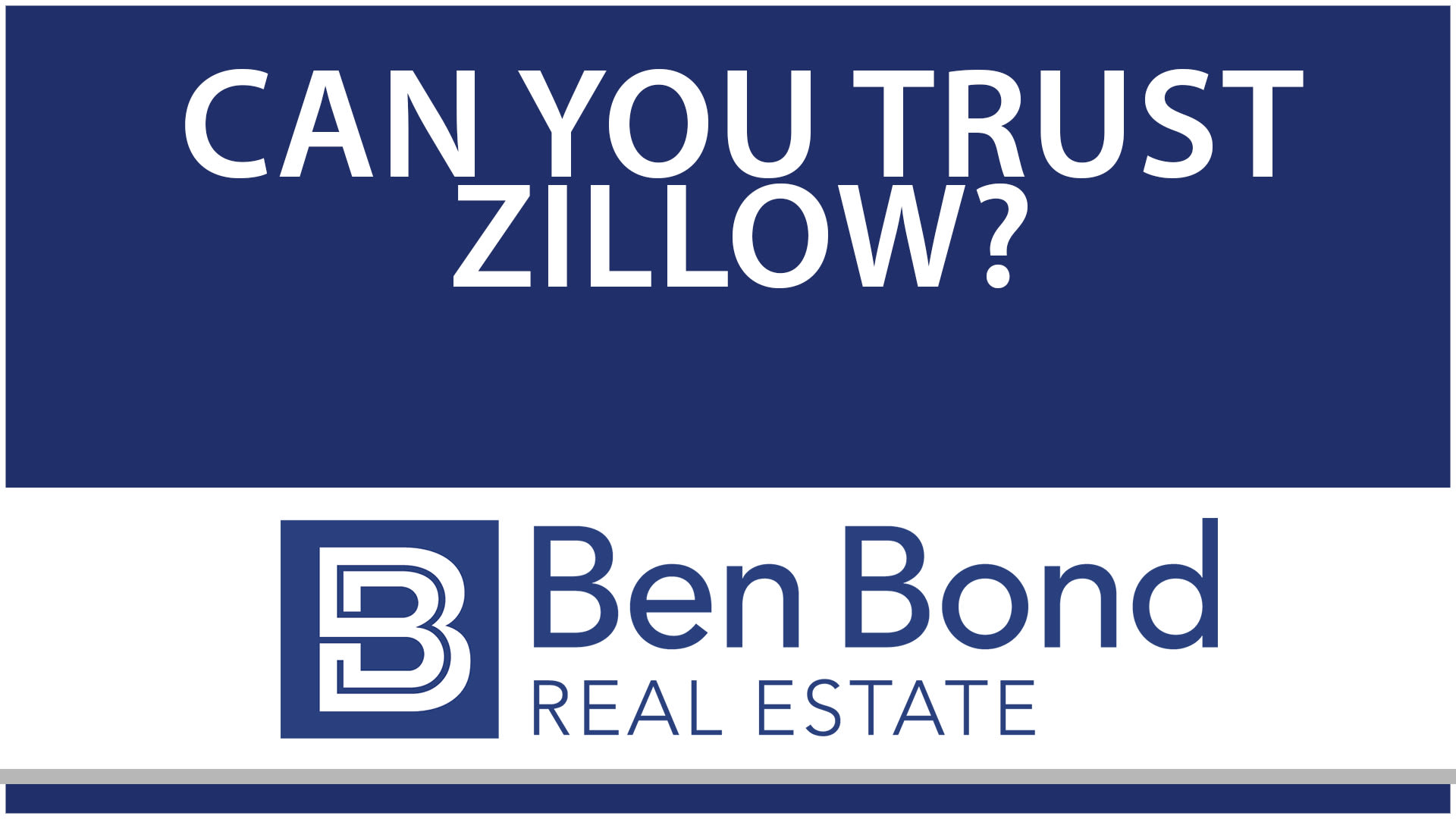 Can You Trust Zillow?
